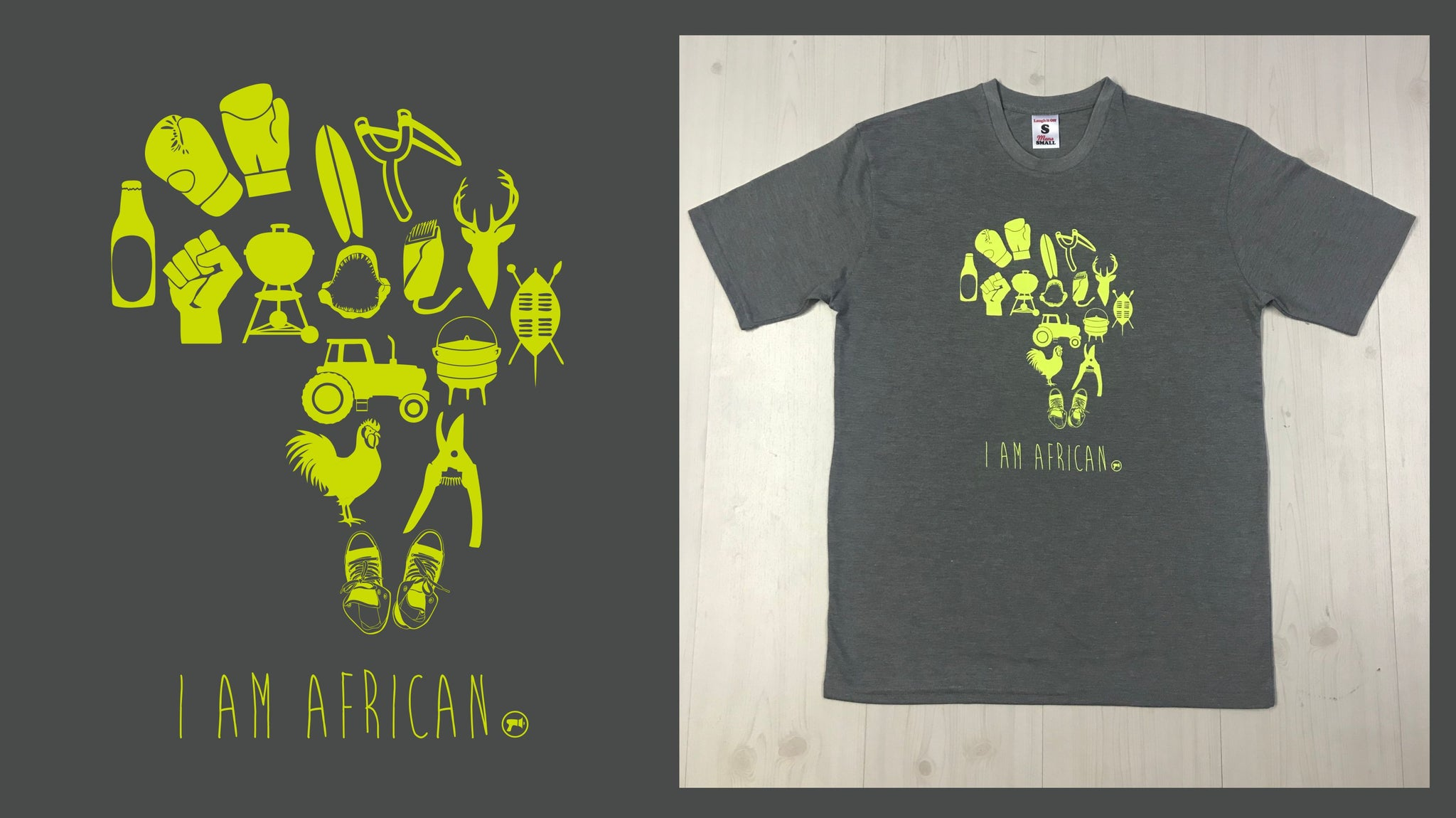 I Am African Men's T-shirt