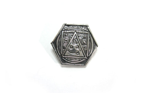 Existential Action Team (E.A.T.) Pin