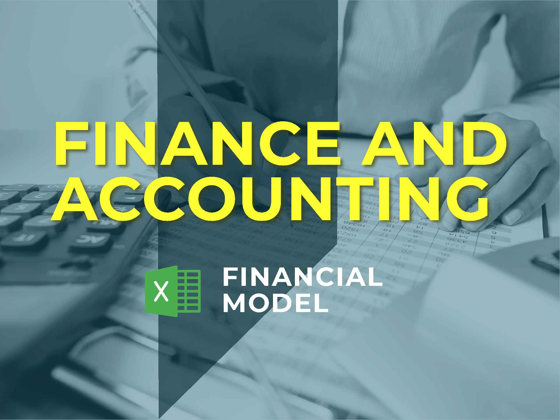 Accounting Software Financial Model Excel Template - Templarket -  Business Templates Marketplace