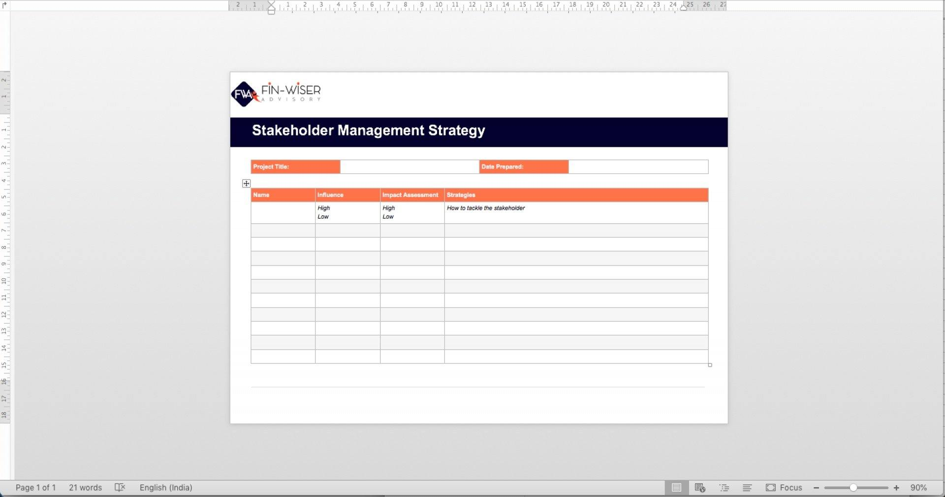 project management templates all phases 5