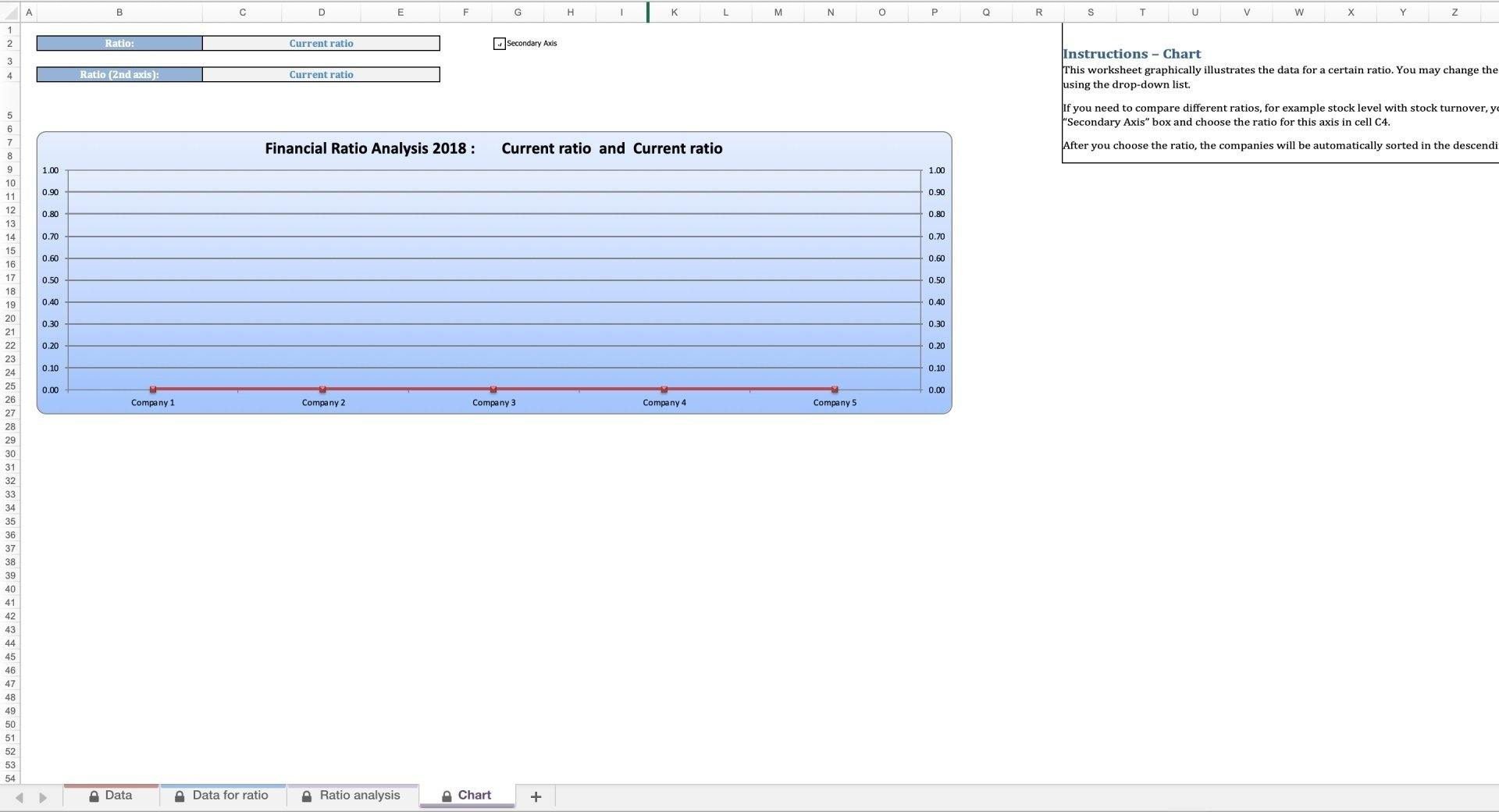 Financial Ratio Analysis (Monthly) Excel Model - Templarket -  Business Templates Marketplace
