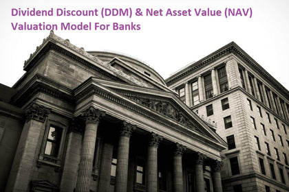 banking model with 3 statements dividend discount ddm and net asset value nav based valuation 1
