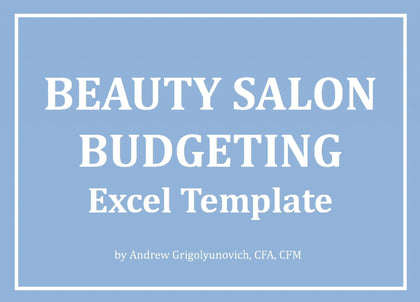 Beauty Salon Budgeting Excel Template - Templarket -  Business Templates Marketplace