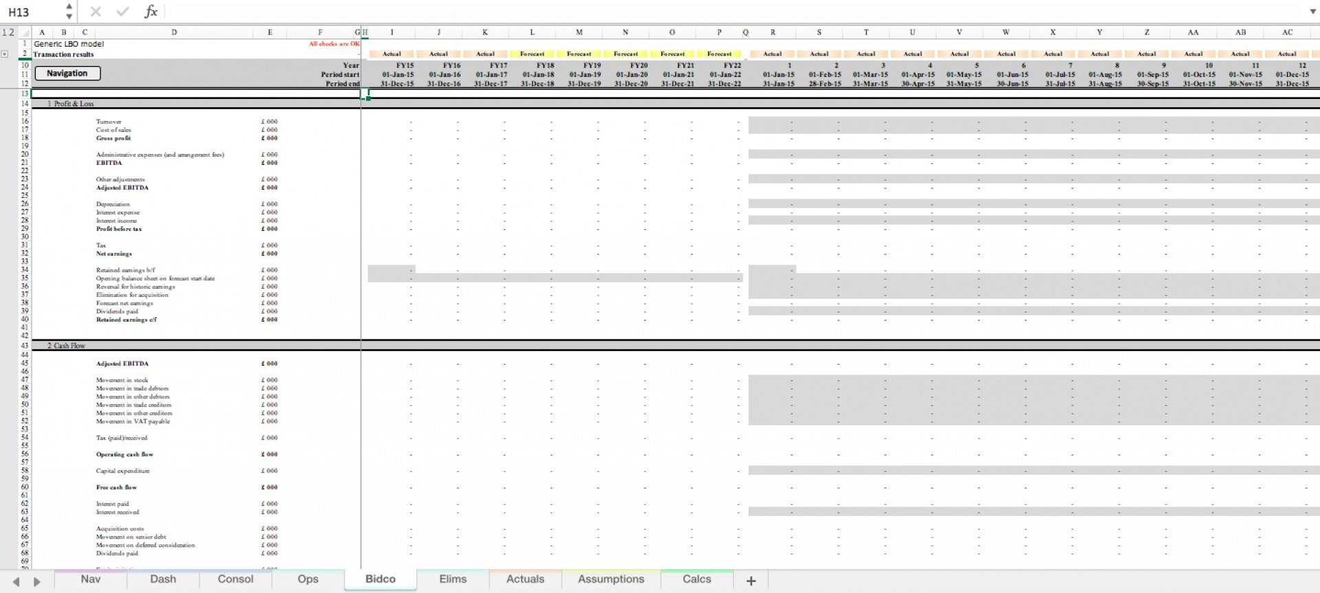 generic lbo leveraged buyout excel model template 6