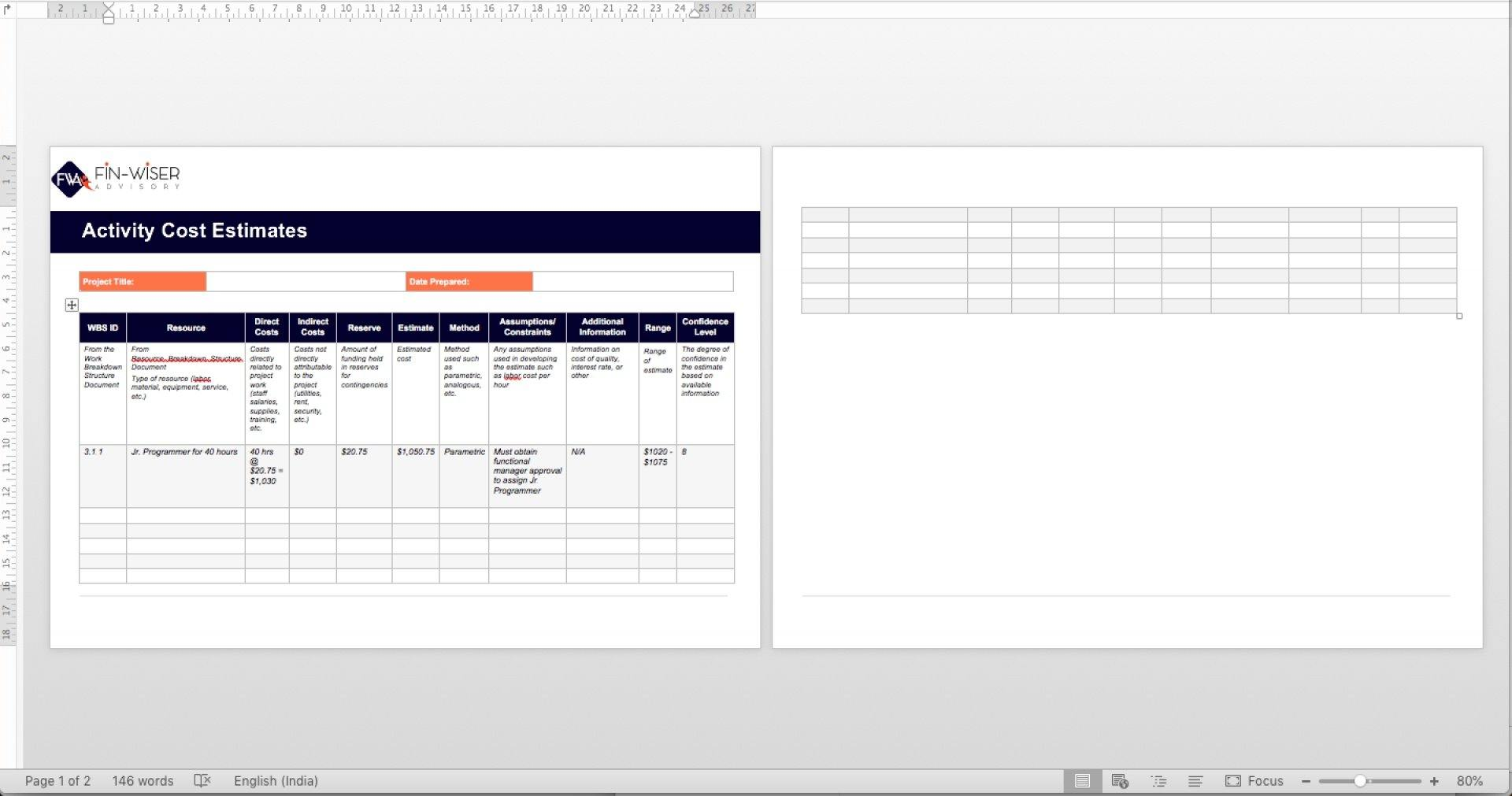 project management templates all phases 20