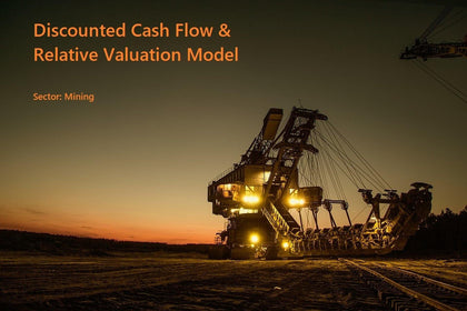discounted cash flow dcf valuation model template mining company 13