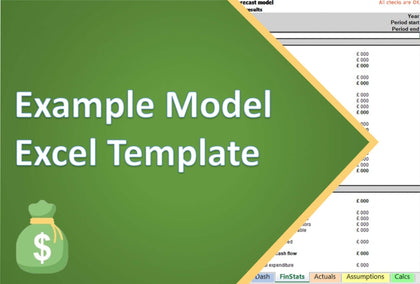 example model excel template 1