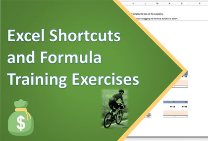 excel shortcuts and formula training excercises 1