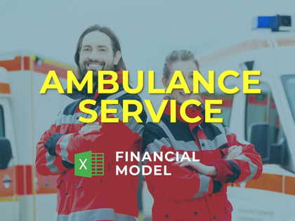 Ambulance Service Financial Model Excel Template - Templarket -  Business Templates Marketplace