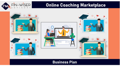 online coaching platform marketplace 3 statement financial model with 5 years monthly projection and valuation 1