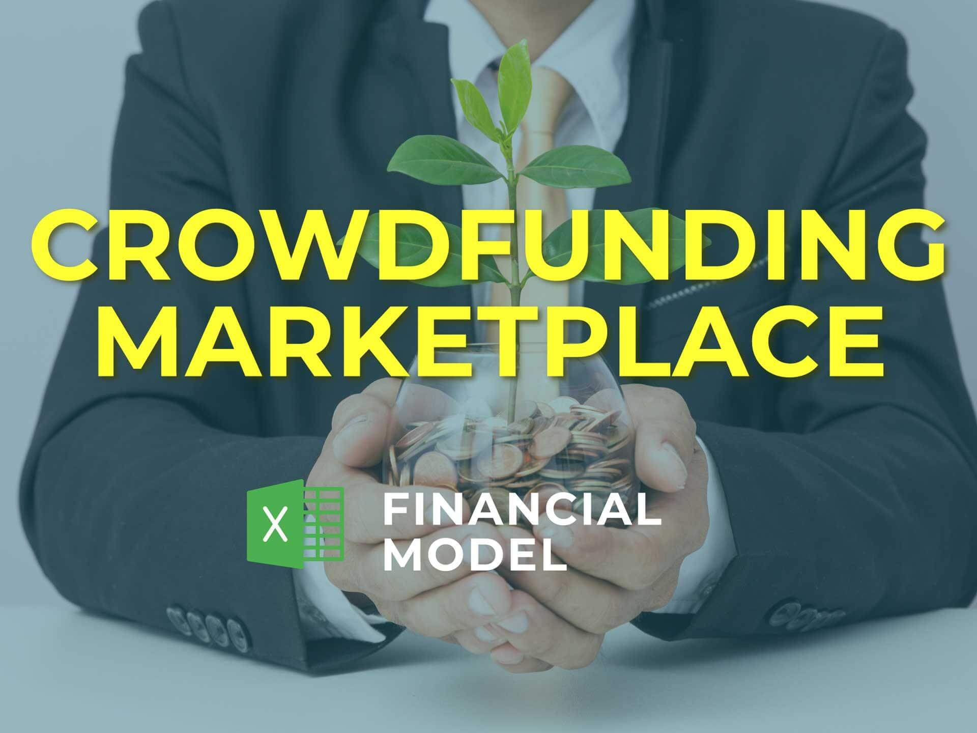 Crowdfunding Marketplace Financial Model Excel Template - Templarket -  Business Templates Marketplace