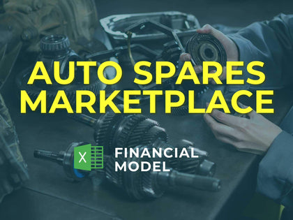 Auto Spares Marketplace Financial Model Excel Template - Templarket -  Business Templates Marketplace