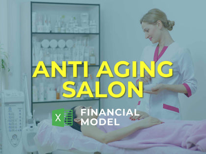 Anti Aging Salon Financial Model Excel Template - Templarket -  Business Templates Marketplace