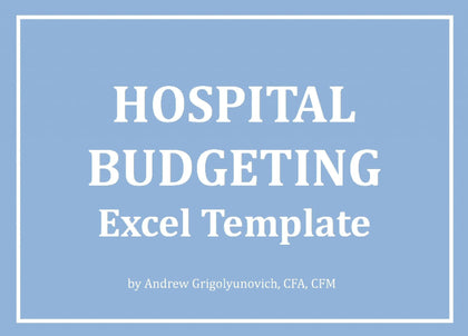 Hospital Budgeting Template - Templarket -  Business Templates Marketplace