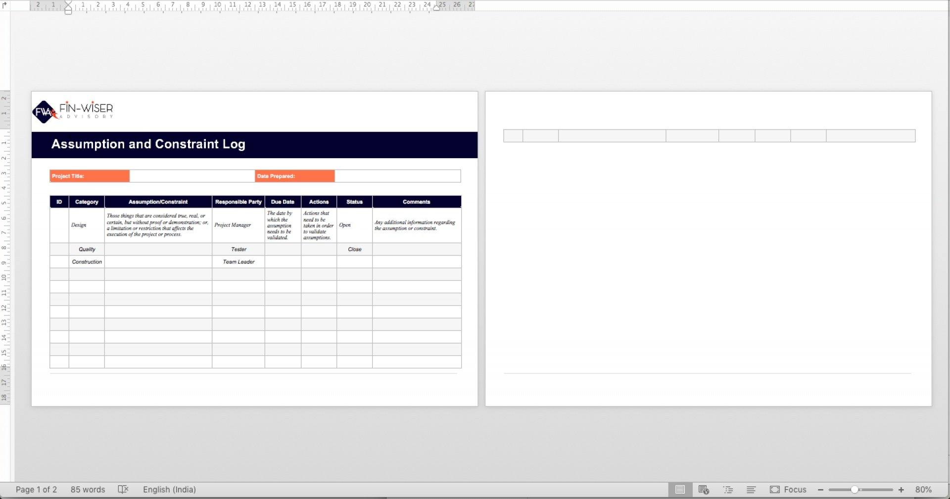 project management templates all phases 10
