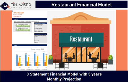 restaurant financial model 12