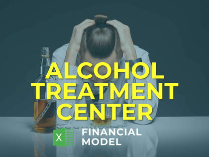 Alcohol Treatment Center Financial Model Excel Template - Templarket -  Business Templates Marketplace