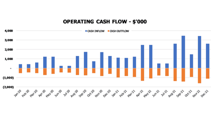 Garden Nursery Cash Flow Forecast Excel Template Financial Charts Cash Flow