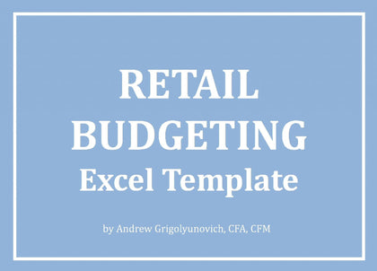 Retail Budgeting Excel Template - Templarket -  Business Templates Marketplace