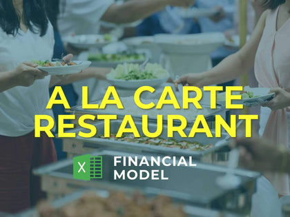 A La Carte Restaurant Financial Model Excel Template - Templarket -  Business Templates Marketplace
