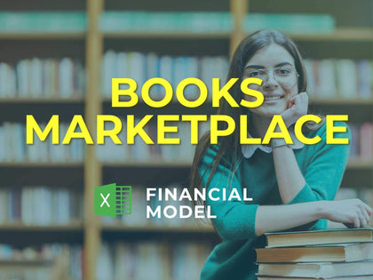 Books Marketplace Financial Model Excel Template - Templarket -  Business Templates Marketplace