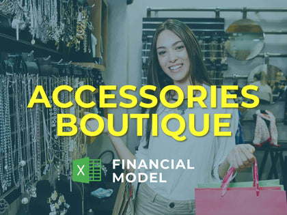 Accessories Boutique Financial Model Excel Template - Templarket -  Business Templates Marketplace