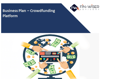 crowdfunding platform marketplace 3 statement financial model with 5 years monthly projection and valuation 1