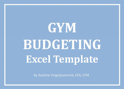Gym Budgeting Excel Template - Templarket -  Business Templates Marketplace