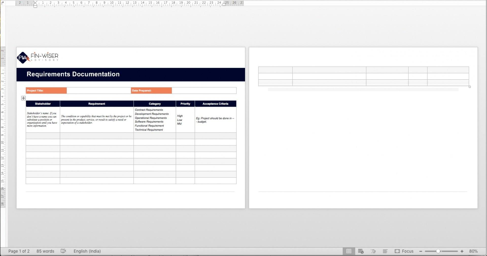 project management templates all phases 7