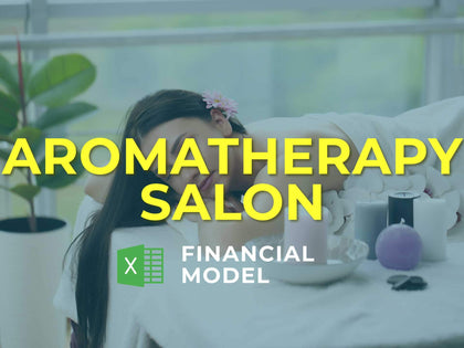 Aromatherapy Salon Financial Model Excel Template - Templarket -  Business Templates Marketplace