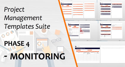 project management templates phase 4 monitoring 1