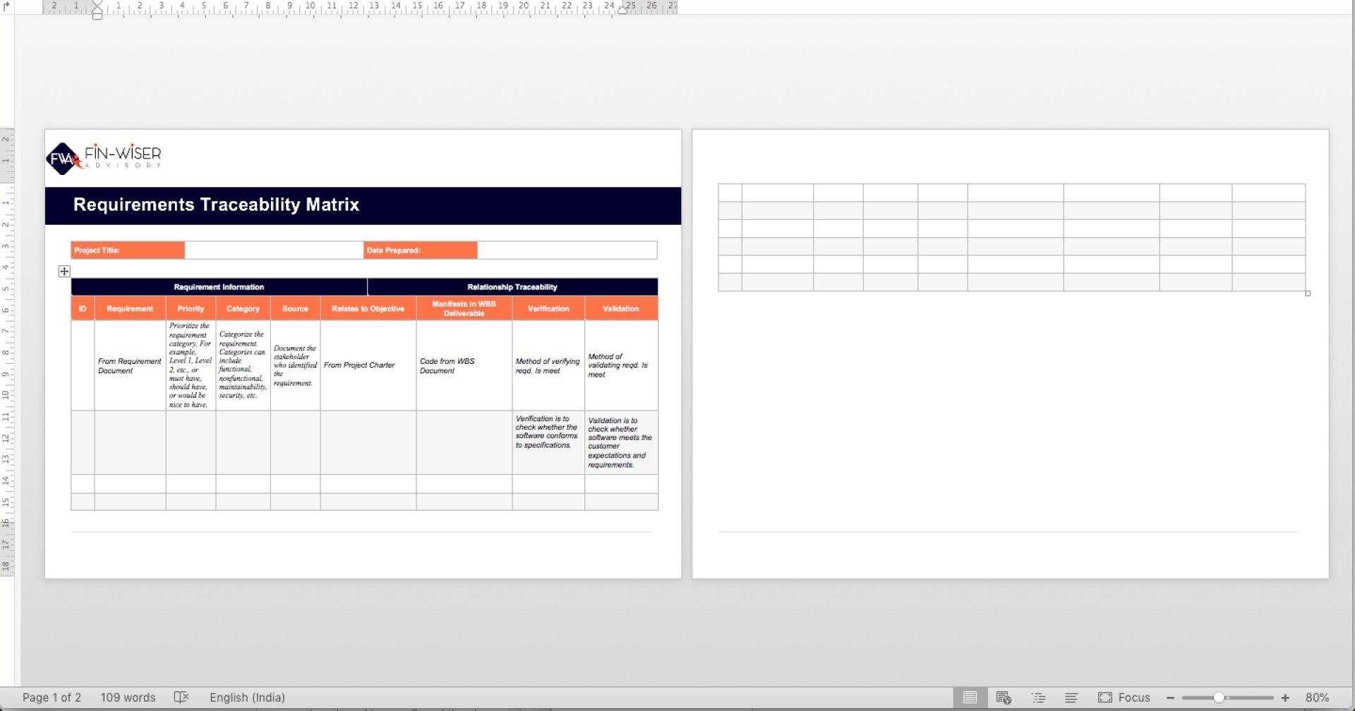 project management templates all phases 8