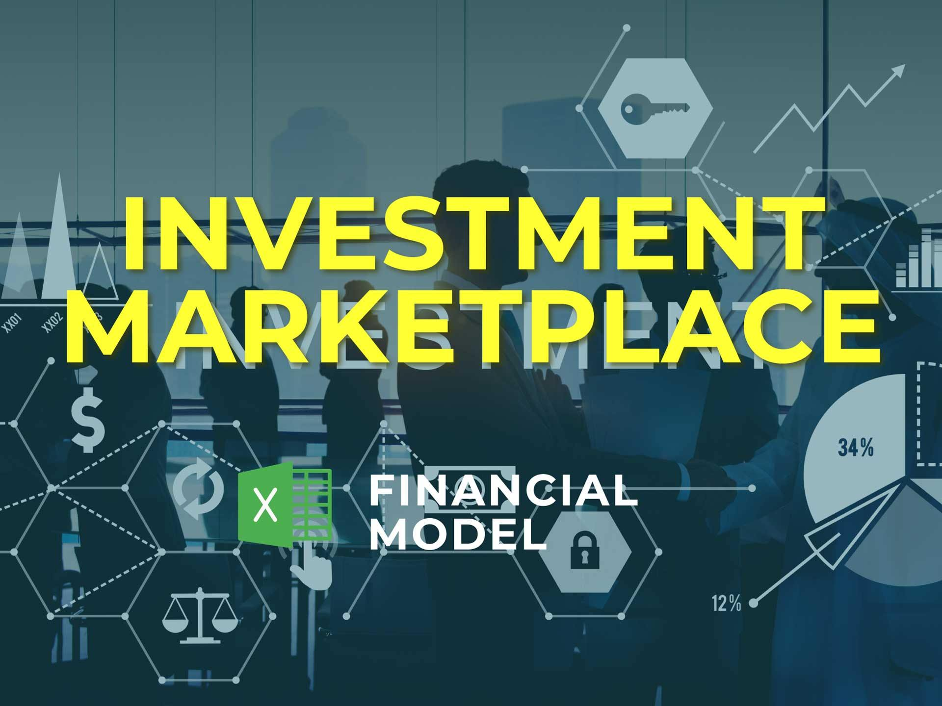 Investment Marketplace Financial Model Excel Template - Templarket -  Business Templates Marketplace