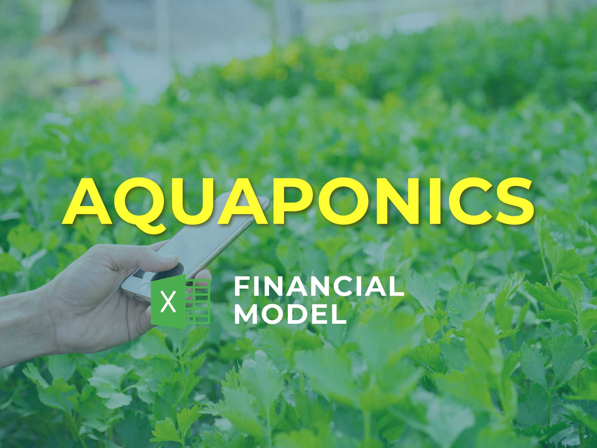 Aquaponics Financial Model Excel Template - Templarket -  Business Templates Marketplace