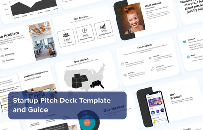 Startup Pitch Deck Template & Guide