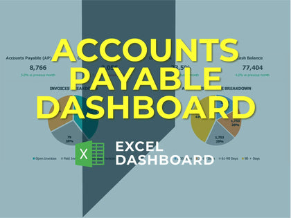 Accounts Payable Dashboard - Templarket -  Business Templates Marketplace