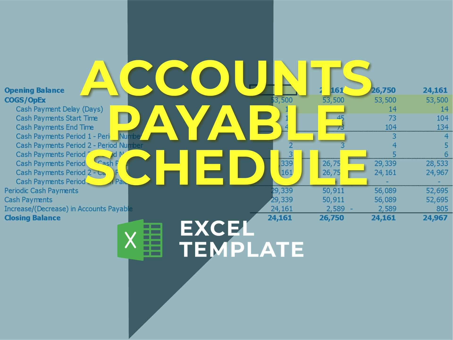 Accounts Payable Calculator - Templarket -  Business Templates Marketplace