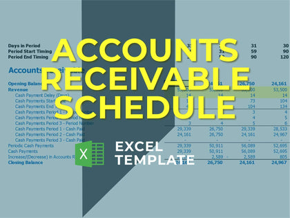 Accounts Receivable Calculator - Templarket -  Business Templates Marketplace