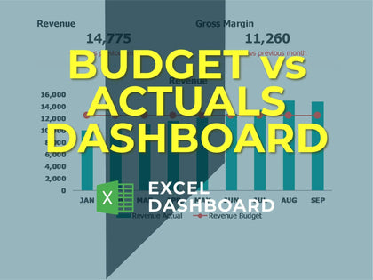 Budget Vs Actuals Dashboard 1