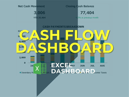 Cash Flow Dashboard 1