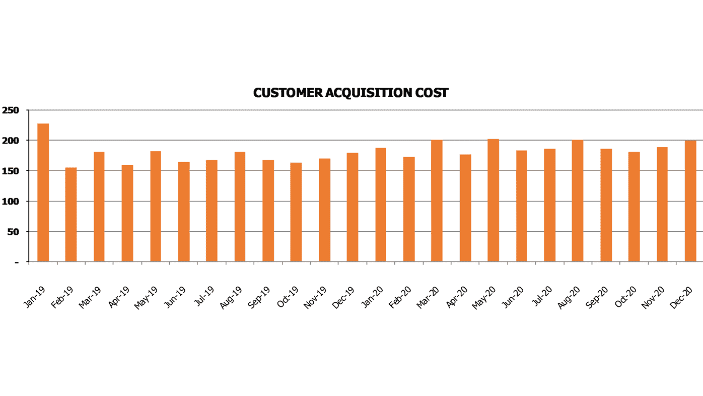 Freemium SaaS Financial Model SaaS Metrics Calculate Customer Acquisition Cost