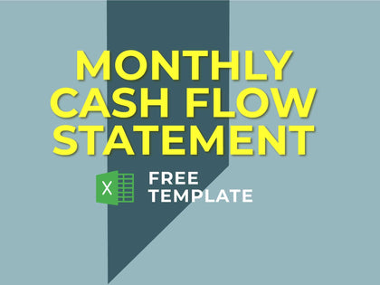 Monthly Cash Flow Statement - Templarket -  Business Templates Marketplace