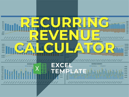 Monthly Recurring Revenue Excel Template