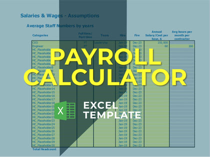 Salary Budget Template Excel Featured