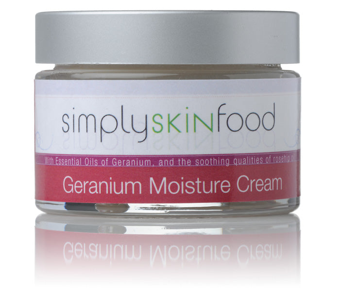 Geranium moisture cream with shea nut butter