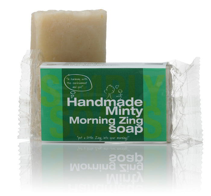 minty soap bar
