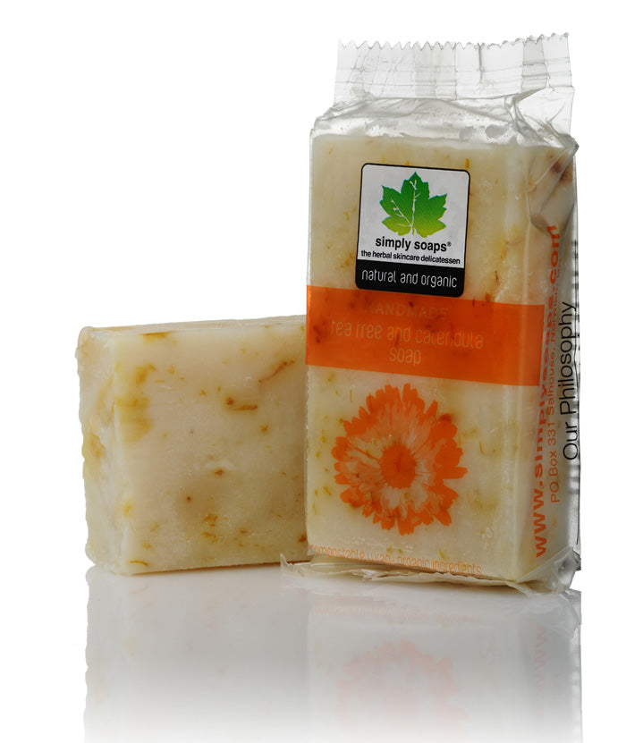 Natural tea tree soap 110 gram bar