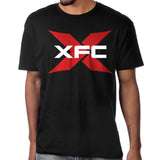 XFC T-Shirt - Red Logo on Black