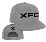 XFC Hat - Black Logo on Grey