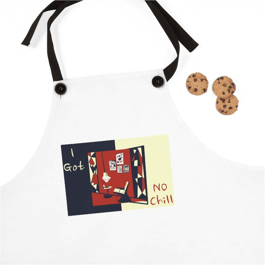 'The Aroma Room' Apron - When PE got no chill